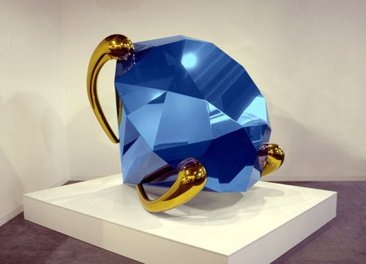 Jeff-Koons-Blue-Diamnod