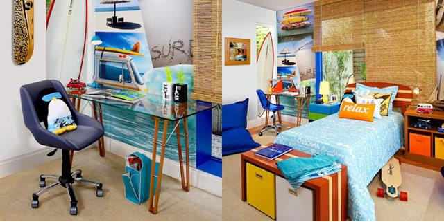 dicas de decoração Troca Troca fashion ~ Quarto Surf Tumblr