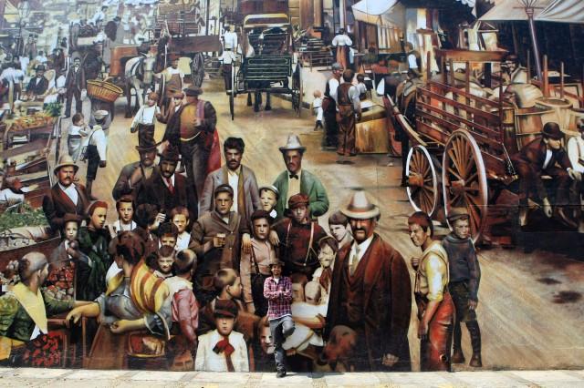 KOBRA SÃO PAULO/SP 16/09/2010 PAINEL KOBRA VARIEDADES CURIOCIDADES - Painel pintado pelo artista plástico Eduardo Kobra na Av. prof. Manoel Chaves, 291, próximo a Ponte da Cidade Universitária.