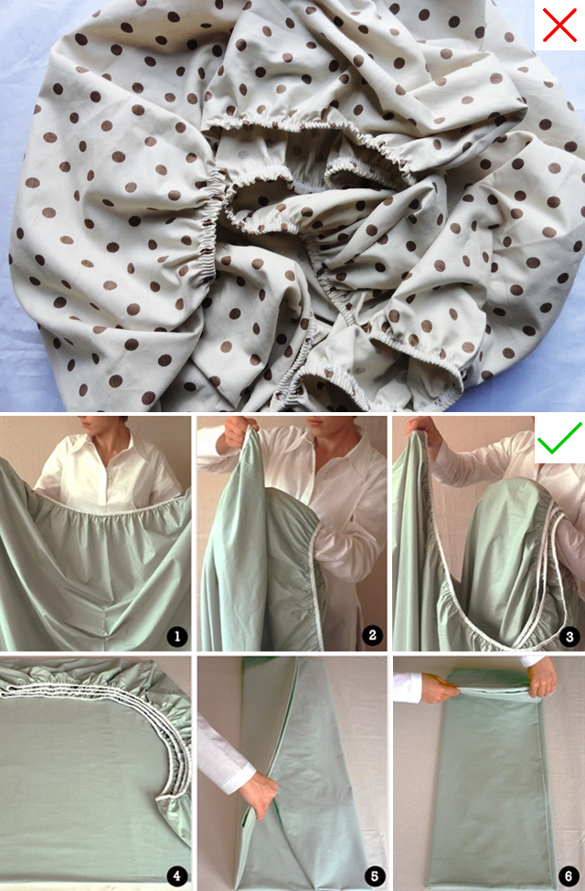 dobrar-lençol-de-elástico