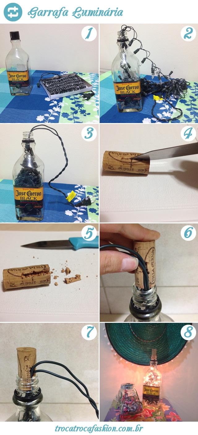garrafa-lumirária