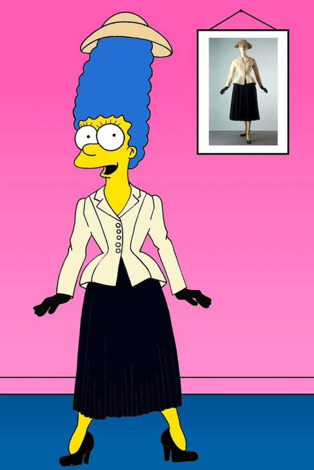Marge-Christian-Dior-Bar-Jacket-vogue-aleXsandro-Palombo