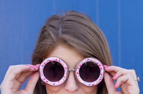 DIY-Donut-Sunglasses-óculos-1