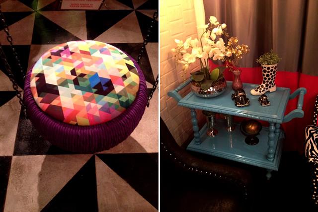 decoracao interiores goiania:Olha que fofura esses vasos de cano de PVC. Cabe as violetas