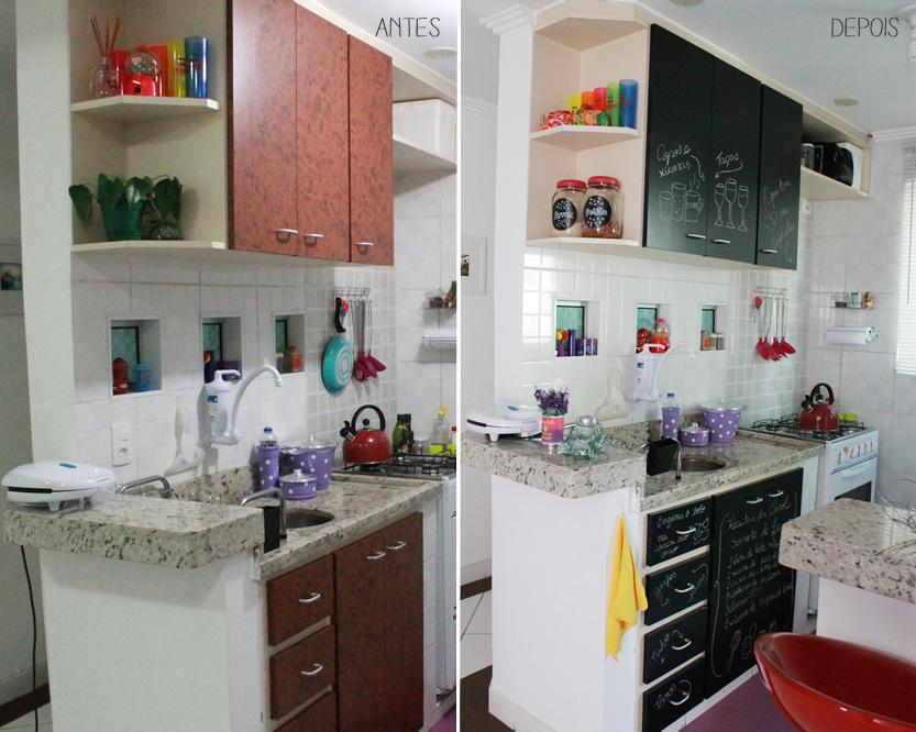 Reforma nos Armário da Cozinha com Papel Contact # Azulejo Cozinha Com Papel Contact
